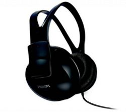 Philips SHP1900 Stereo Headphones - Black