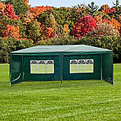 Outsunny Gazebo Party Tent Outdoor (Green, 6m x 3m)