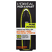 L'Oréal Men Expert Pure Power Roll On 10Ml