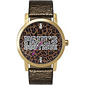 Pauls Boutique Ladies Strap Watch PA007GDGD