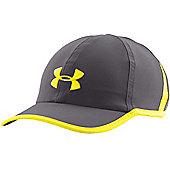 Under Armour Mens Shadow 2.0 Sports Running Cap - Grey / Lime