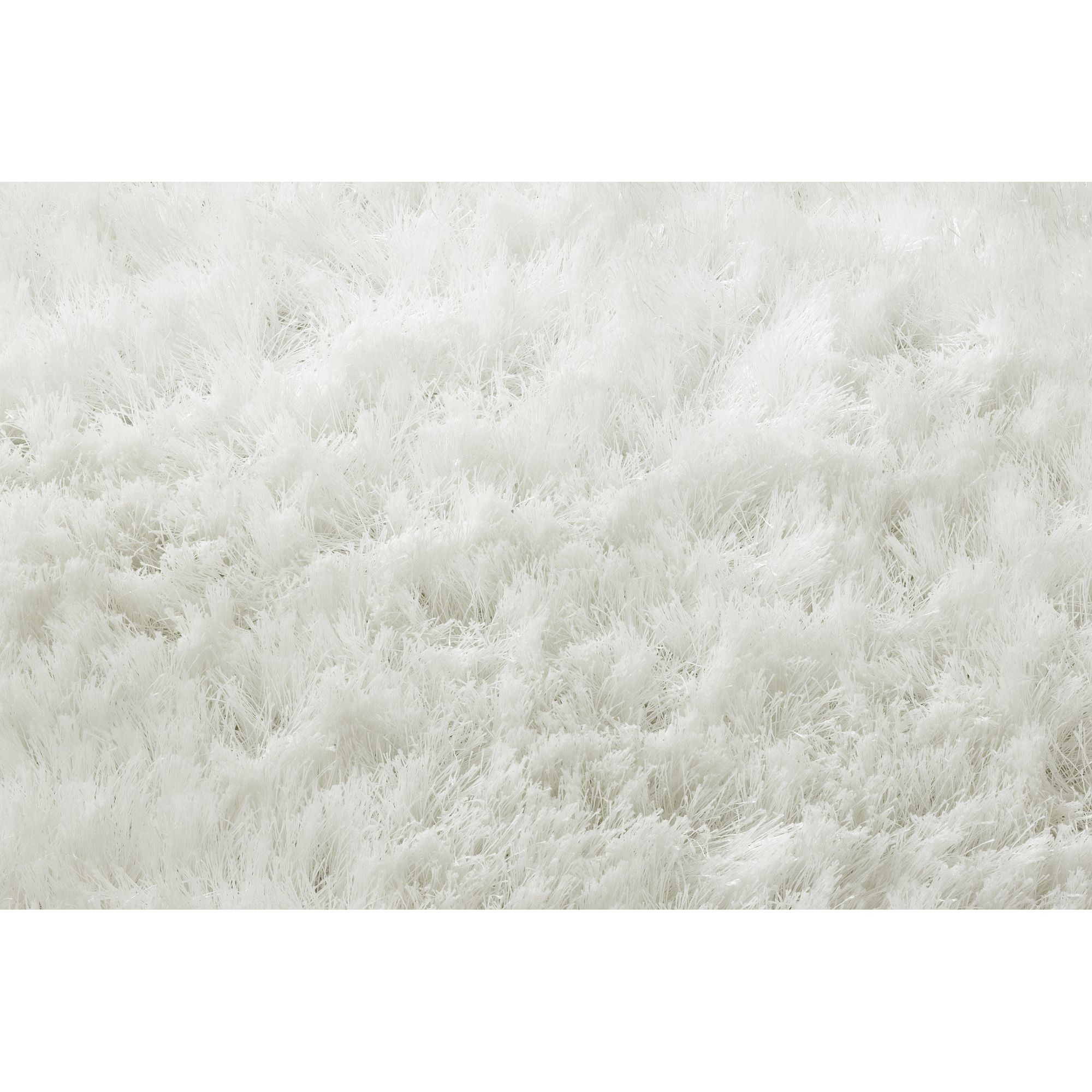 Linie Design Mantova White Shag Rug - 300cm x 200cm at Tesco Direct