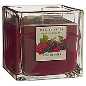 Wax Lyrical Made in England Berries Filled Candle