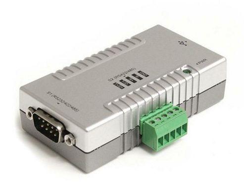 StarTech.com 2 Port USB to RS232/422/485 Serial Adapter COM Retention