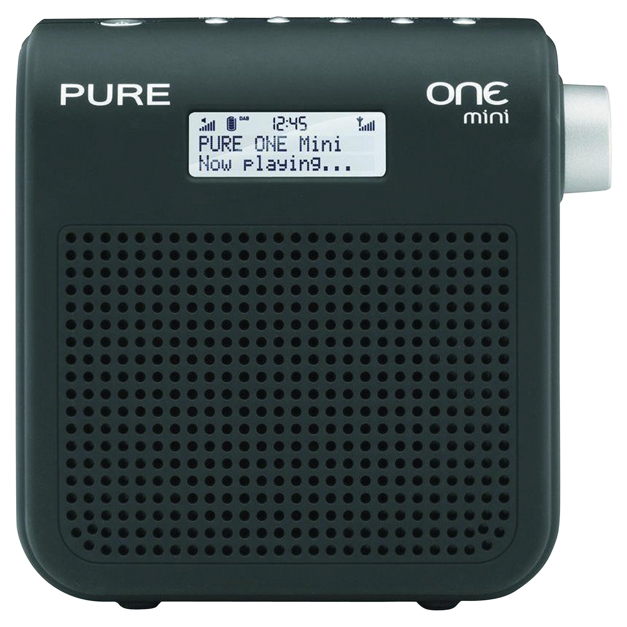 Pure One Mini SII DAB/FM Radio Black