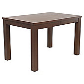 Banbury 4-6 Seat Extending Butterfly Dining Table, Walnut effect