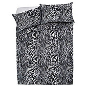 Tesco Basics Animal Print Duvet Cover And Pillowcase Set, King Size