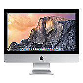 "Apple iMac, 21.5"", Intel Core i5, 8GB RAM, 1TB, GeForce GT 750M 1GB Graphics - Silver"