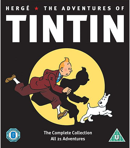 The Adventures Of Tintin (DVD Boxset)