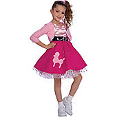Fifties Girl - Child Costume 5-6 years