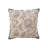 Linea Grey Oversized Printed Cushion New
