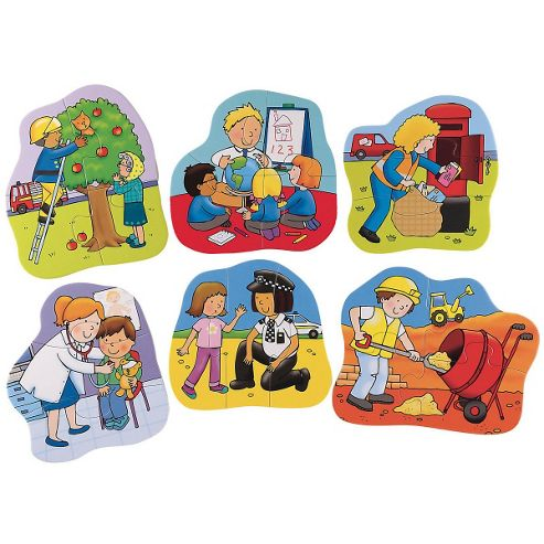 ELC I Want To Be... 6 Job Puzzles