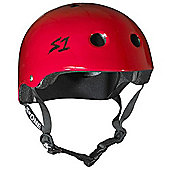 S1 Helmet Company Lifer Helmet - Red Gloss - Red