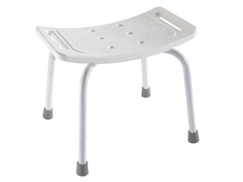 Showerdrape Shower Stool White