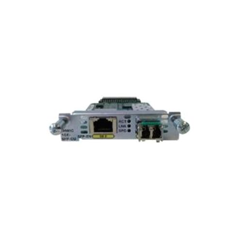 Cisco 1 Port Enhanced High-Speed WAN Interface Card Dual Mode SFP/Copper (Spare)
