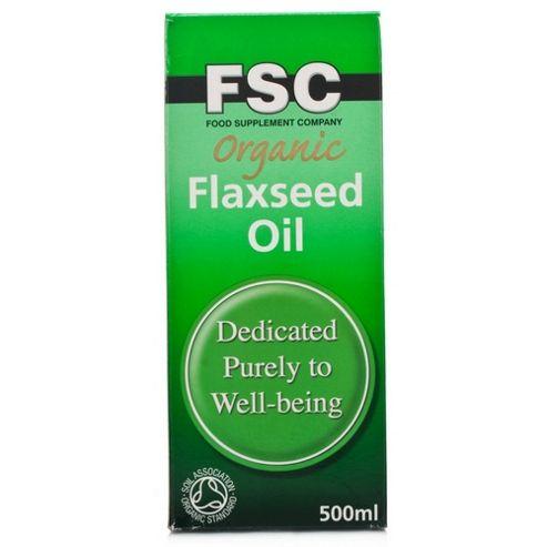 Fsc Organic Flaxseed Oil 500ml Oil