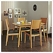 Carnaby 4-6 Seat Extending Dining Table