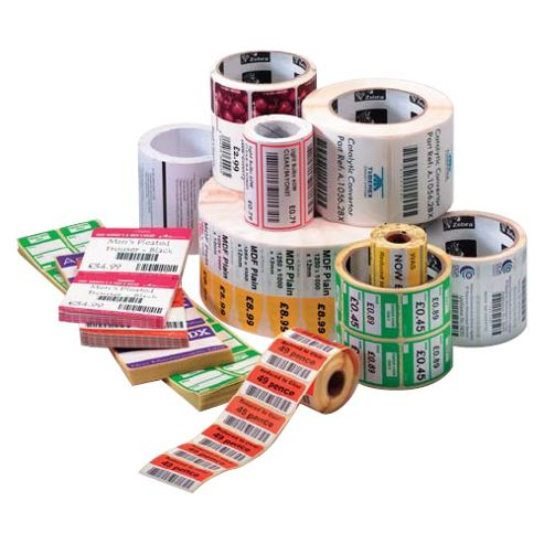 Zebra Z-Select 2000D 57 x 51 mm Premium topcoated direct thermal paper label
