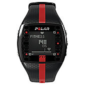 Polar FT7  Black / Red Sports Watch