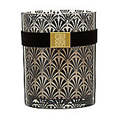 Biba Black Elegant Silk Candle