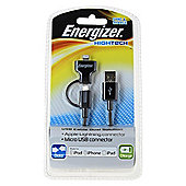 Energizer Dual cable Charge and Sync 0.9M