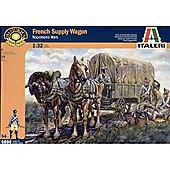 French Supply Wagon - 1:32 Scale - 6886 - Italeri