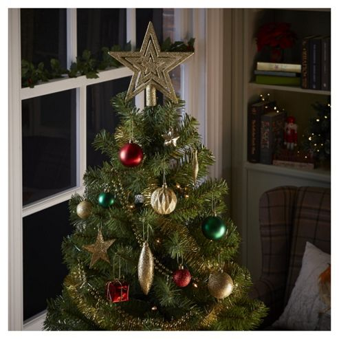 Buy red green and gold christmas tree decorations 60 for Green and gold christmas tree