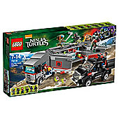 LEGO Teenage Mutant Ninja Turtles Big Rig Snow Getaway 79116