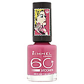 Rimmel 60 Seconds Rita Ora Nail Polish Don't Be Shy