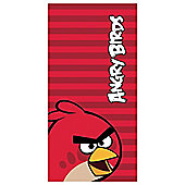 Angry Bird Towel Red