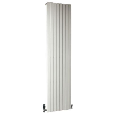 DQ Heating RT Vertical Radiator 500mm High x 985mm Wide (18 Sections) White