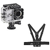 KitVision Action Camera and Chest Strap Skiing Bundle