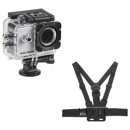 Save £39 on KitVision Action Camera and Chest Strap Skiing Bundle