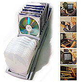 Anywhere - Wall Or Free Standing Cd Storage Rack - 20 Cds