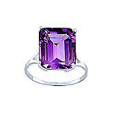 QP Jewellers 6.50ct Amethyst Auroral Ring in 14K White Gold