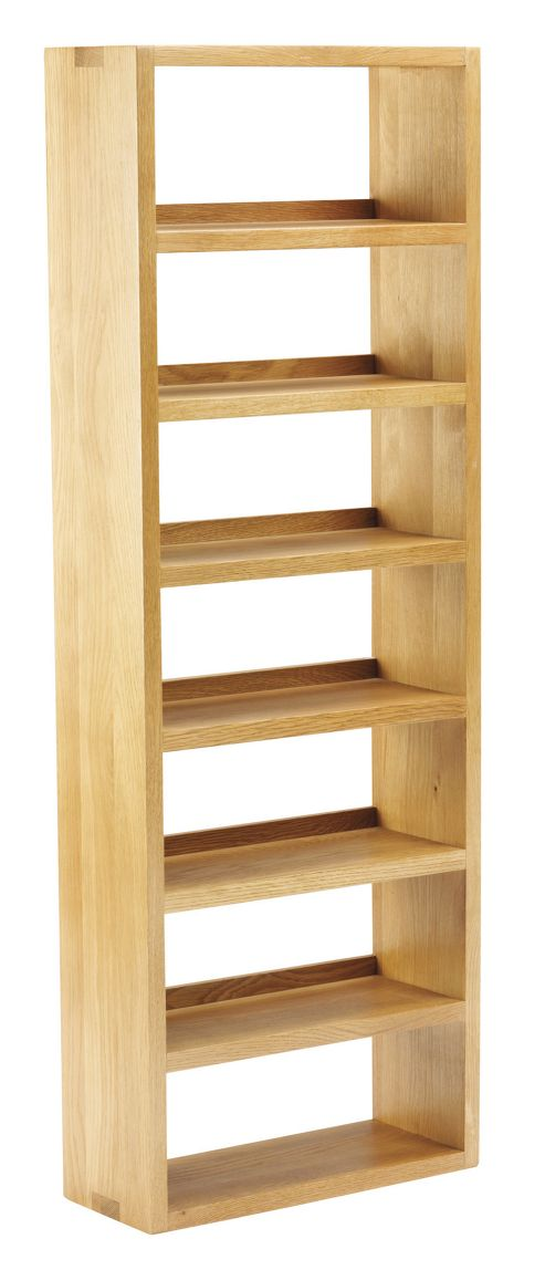 Thorndon Taunton 40cm CD Rack in Medium Oak