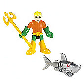 Fisher Price Imaginext DC Super Friends Figures Aquaman And Robo Shark