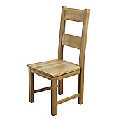 Furniture Link Hampshire Dining Chair (Set of 2) - Solid