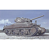 American Infantry With Sherman (WWII) - 73006 - Italeri
