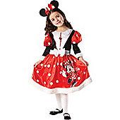 Minnie Mouse Winter Wonderland - Child Costume 7-8 years