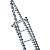 2.5m Double Aluminium Window Cleaners Ladder