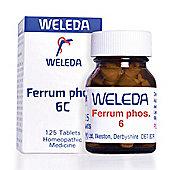 Weleda Ferrum Phos 6C 125 Tablets