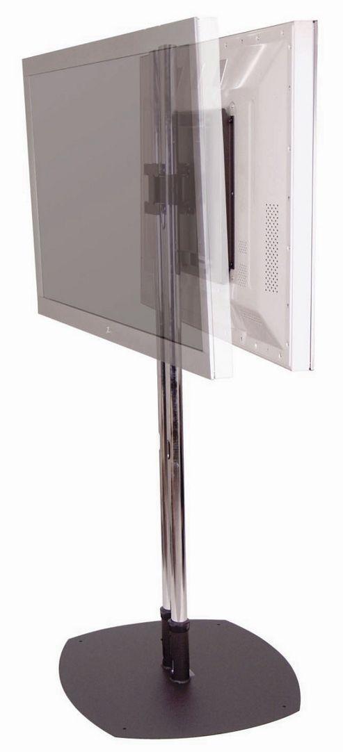 Premier Mounts Back to Back TV Stand 60 inch Poles