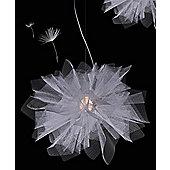 Arturo Alvarez Fluo Suspension Lamp - White Painted Metal