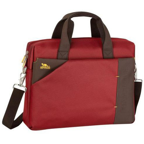 RIVACASE 8130 15.6 Inch Laptop Bag, Dark Red