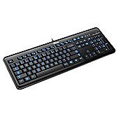 Trust eLight LED Illuminated Keyboard (Black) - UK