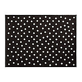 Lorena Canals Dots Brown Children's Rug - 120 cm x 160 cm (4 ft x 5 ft)