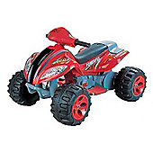 6V Quad Bike Style Ride On Car Red and Black
