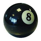 "Competition No 8 Pool Ball - Ball Size : 2 1/4"" inch Diameter"