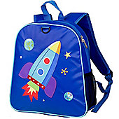 Embroidered Children's Backpack – Space